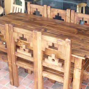 UTASATAKI – Muebles en pino – Bolivia - Comedores