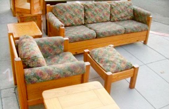 UTASATAKI – Muebles en pino – Bolivia - Sillones